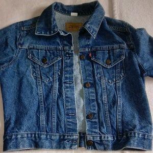 Girl Levi's Jean jacket size L